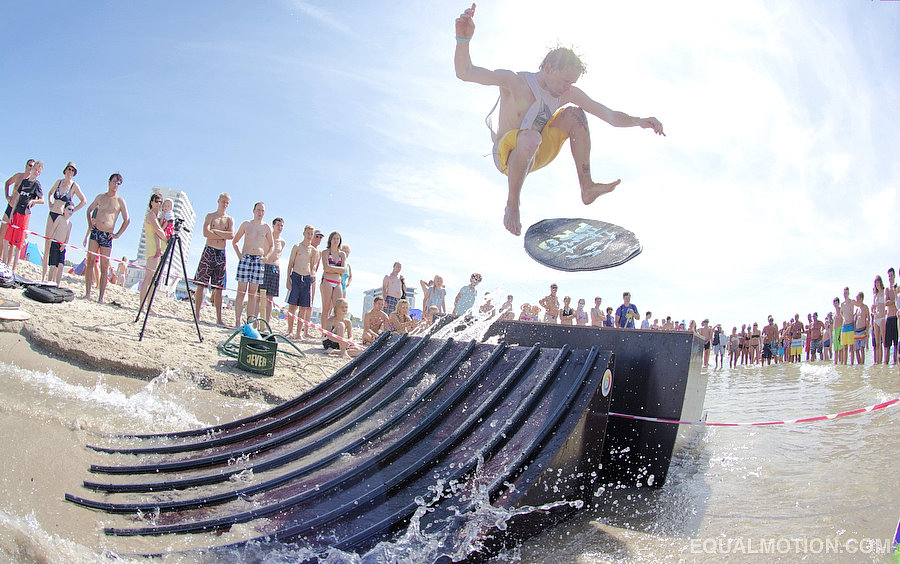 Germany skimboarding with DB Skimboards