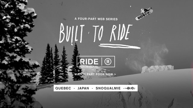 Built to RIDE!