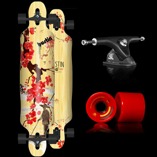 Bustin Longboard- SUMMIT 42″- BLOSSOM「綻放」(整組)