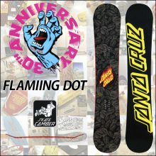 Santa Cruz Snowboard –  FLAMMING DOT 155