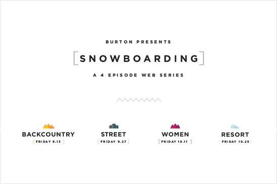 雪板的玩法 by Burton