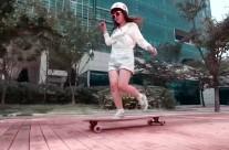 韓式dancing: Solbee 長板女孩