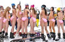 Snow bikini!